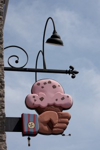 ben-jerrys-cone-sign