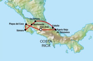 costa-rica-itinerary-map