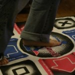 $35 – Dance Dance Revolution with Dance Mat for Nintendo Wii