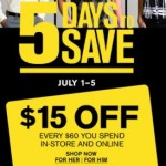 $15 Off $60 Purchase at Express