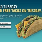 Two Free Tacos on Tuesday: Jack in the Box