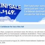 JetBlue Bikini Sale: Caribbean from $29