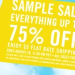 Kate Spade Sample Sale – Up to 75% Off