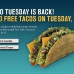 Two Free Tacos on Tuesday [again!]: Jack in the Box