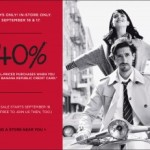 40% Off Coupon for Banana Republic: Cardholders