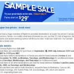 JetBlue Sample Sale $29 Flights: Today Only!