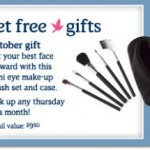 Free Make-up Brush Set & Case @ Aerie Stores