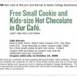 Free Food Friday: 5 New Freebies (+Barnes & Noble)