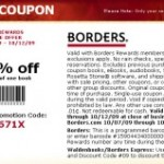 40% Off One Book Coupon Code for Borders