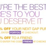 20% Off Coupon Code for Gap.com