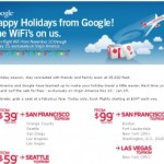 Free WiFi on Virgin America Flights from Google
