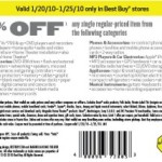 Best Buy: 10% Off Printable Coupon
