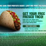 Free Food Friday: 7 New Freebies (+Taco Bell)