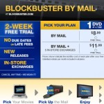 Free 6 Week Trial of Blockbuster by Mail
