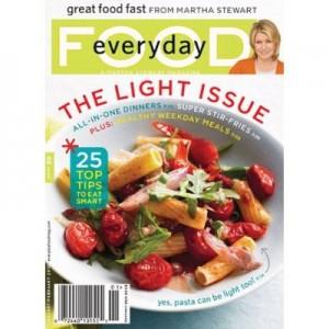 99 – Everyday Food Magazine 1-year Subscription   Frugal Bon ...