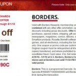 Borders 40% Off Coupon Online & In-store