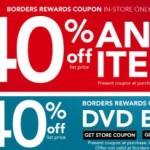 40% Off Borders Coupon