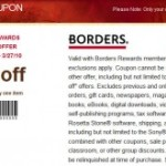 Borders 40% Off Coupon