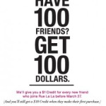 Get $1 For Every Friend Who Joins Rue La La
