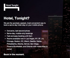 Nov 23,  · Hotel Tonight provides its users with a digital marketplace to reserve superb last-minute hotel deals at picturesque global properties for tremendous value. The smartphone app makes it easy for users to choose from a medley of last-minute rooms that would otherwise remain unfilled.