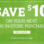 World Market $10 Off Coupon