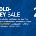 20% Off JetBlue Flights Coupon Code: Monday Only